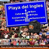 Playa del Ingles Bars Cafes Pubs Kneipen Restaurants Discos