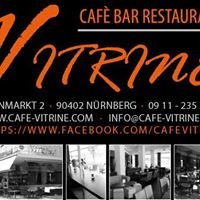 Cafe Bar Restaurant Vitrine
