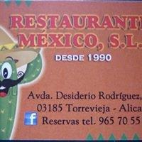 Restaurante Mexico,S.L.