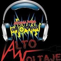 ALTO VOLTAJE programa de Rock