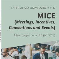 Especialista Universitario MICE - UIB