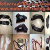 Motorrad-Racing Grün