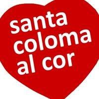 Santa Coloma al cor