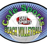 Cafe Sports Beach Volleyball