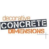 Decorative Concrete Dimensions