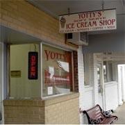 Yotty's Ice cream shop.