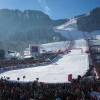 Fans of Streif (Kitzbuhel downhill)