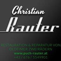 Christian Rauter Restauration & Reparatur von Oldtimer Zweirädern