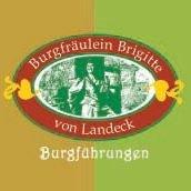 Gästeführungen Burgfräulein Brigitte von Landeck