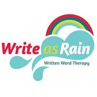 Write as Rain: Written Word Therapy
