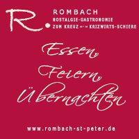 Rombach Nostalgie Gastronomie Zum Kreuz - Krizwirts-Schiere