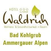 Kur und Wellnesshotel Waldruh Moorbäder in den Ammergauer Alpen