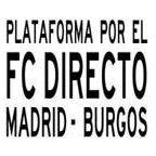 Plataforma por el Ferrocarril Directo Madrid - Aranda - Burgos, Línea 102