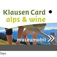 Klausen / Chiusa Card - alps & wine
