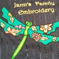Janns Family Embroidery at 7A Bellmount Close Anna Bay,Port Stephens