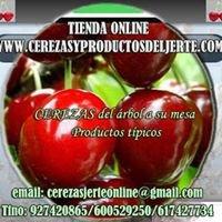 Cerezas y productos del Jerte