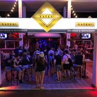 Yates Show bar and restaurant Tenerife