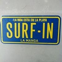 Surfing La Manga