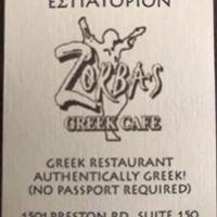 Zorba's Greek Cafe Plano