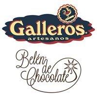 Belén de chocolate Galleros Artesanos de Rute