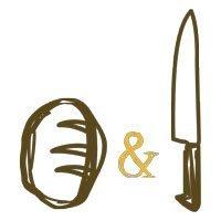 A pan y cuchillo