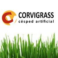 Corvigrass césped artificial, distribución, venta e instalación.