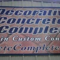 Decorative Concrete Complete Inc.
