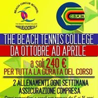 Beach Tennis College Ravenna-Beach circus school