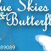 Blue Skies & Butterflies