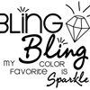 Bling Bling Custom Rhinestone Tees