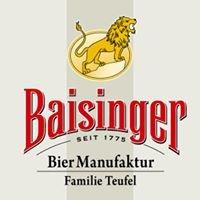 Baisinger BierManufaktur Familie Teufel