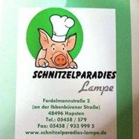 Schnitzelparadies Lampe