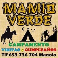 Mamio Verde campamento, visitas y cumpleaños