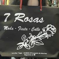 7 Rosas. Moda low cost en novia, fiesta y calle