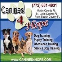 Canines 4 Hope Dog Training