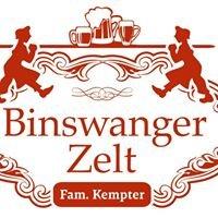 Festzelt Binswanger & Kempter
