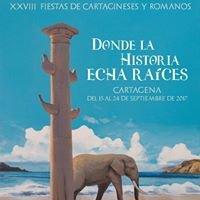FIESTAS DE CARTAGINESES Y ROMANOS PAGINA OFICIAL