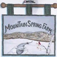 Mountain Spring Farm B&B