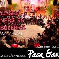 Escuela de flamenco Paca Garcia