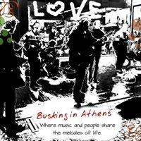 Busking in Athens