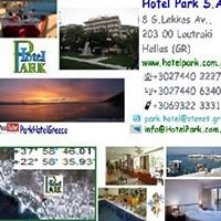 Loutraki's Park Hotel Greece-LOCATION