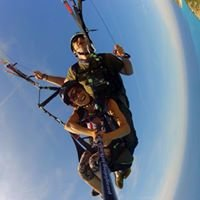Lefkada paragliding with Janni at The Big Blue