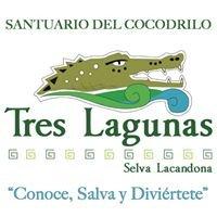 Tres Lagunas, Selva Lacandona