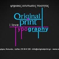 Originalprint