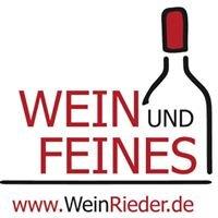 Wein & Feines - WeinRieder.de
