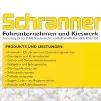 Fuhrunternehmen Schranner GmbH, Kieswerk