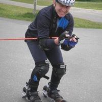 Almuth und Armin Saller Nordic Cross Skating Academy Hockenheim
