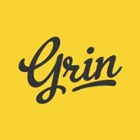 Grin.