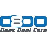 0800 Best Deal Cars