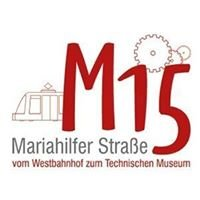 M15 - Verein der Unternehmer der Mariahilfer Straße im 15.